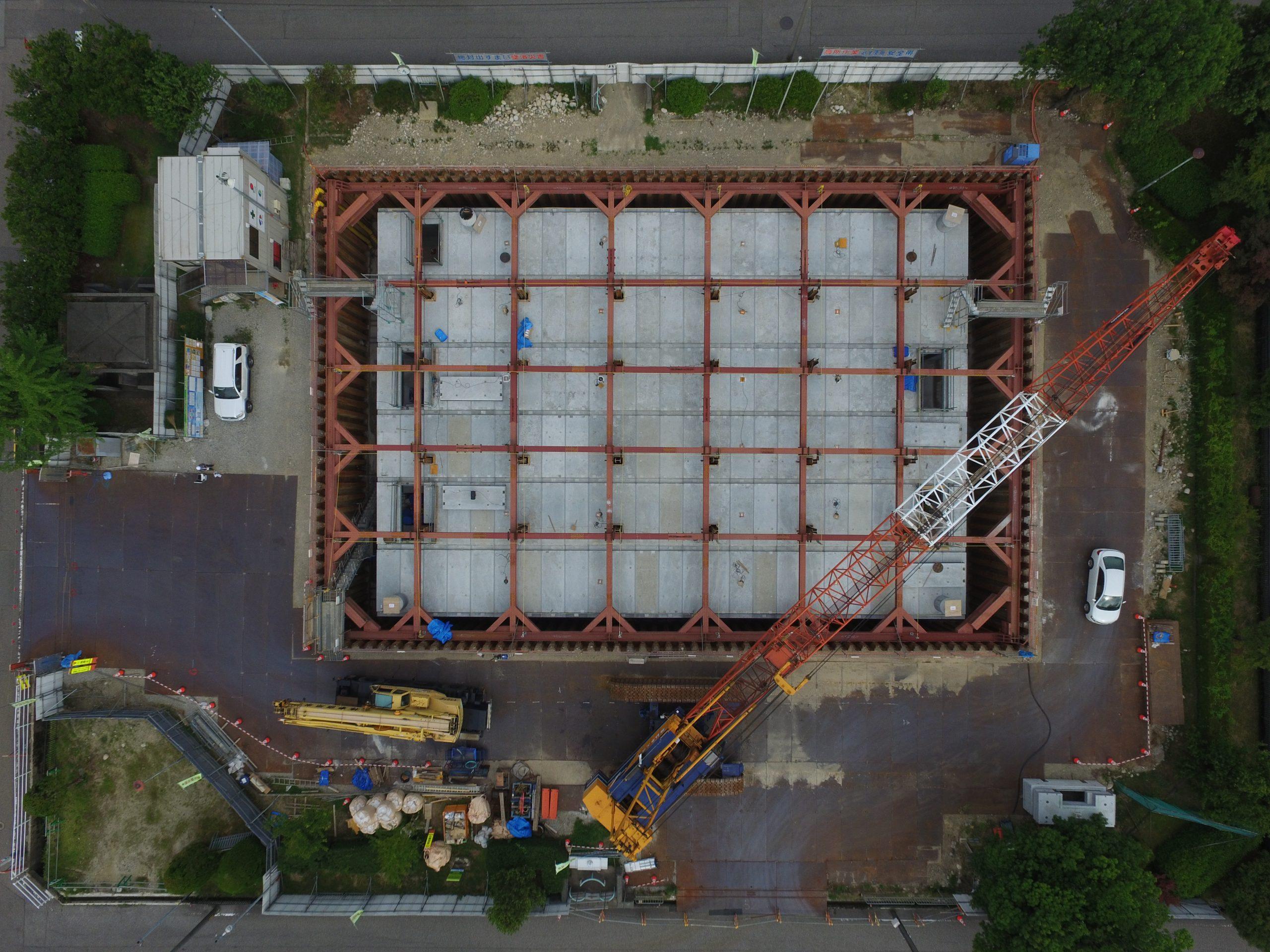 2018年 魚津市公共下水道事業 上村木雨水調整池築造工事